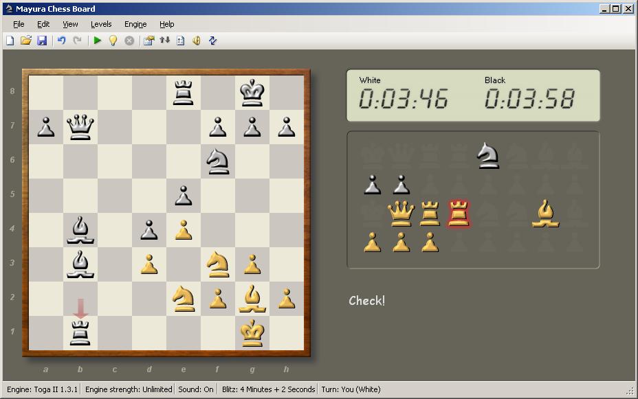 Play Chess Using Mayura Chess Board